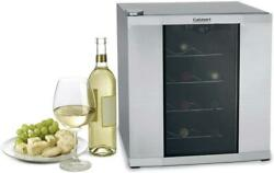 Cuisinart Cwc-1600 Brushed Stainless 16 Bottle Private Reserve Wine Cellar