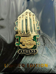 Hard Rock Cafe Athens Greece 2021 50th Anniversary Global Series Headstock Pin