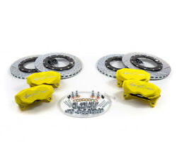 Agency Power Big Brake Kit Front-rear Yellow For Can-am Maverick X3 Turbo