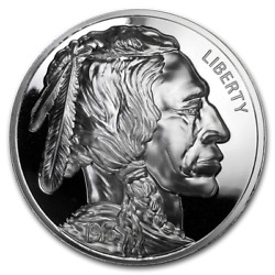 👉american Legacy Collection Buffalo Nickel 1 Oz Silver Proof With Coa10k Minted