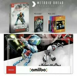 Metroid Dread Special Edition And Amiibo Set Sold Out Nintendo Switch Oct Preorder