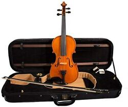 Thoma 4/4 Model 100 Violin W/ Deluxe Case And Dominant Strings 9111514