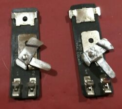 A Pair Of Lionel Utc Track Power Connectors, For Standard Or O Gauge