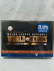 Official Major League Baseball World Series Film Collection Sealed New 20 Dvds