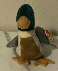 Ty Beanie Baby Jake The Duck Rare With Errors Mint With Stamp 484