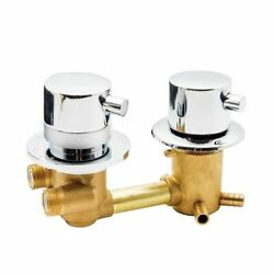 Thermostatic Shower Faucets 2/3/4ways Outlet 10cm 12.5cm Intubation Brass Mixing
