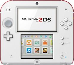 Nintendo 2ds Scarlet Red And White Factory Refurbished Fast Shipping Us Seller