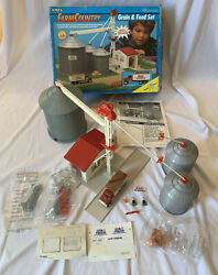 Ertl Farm Country Grain And Feed 73 Piece Set Nearly Complete See Description