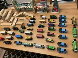 Thomas The Tank Engine Brio Wooden Trains/tracks/accesories Lot Huge Collection