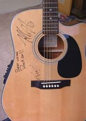 Takamine Eg530c Acoustic Electric Guitar Signed By Emerson Hart Tonic