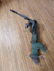 Vintage 1952 Johnson Seahorse Qd-13 10 Hp Lower And Other Parts