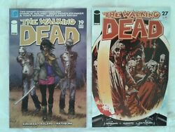The Walking Dead Comic Lot 19 27 Image Oop 1st Michonne Fn 1st Governor Vf
