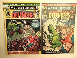 1971 Marvel Feature Presents The Defenders 2 And 3