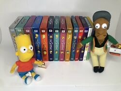 The Simpsons Seasons 1-13 No 6 Dvd Sets Pre-owned Bart Apu Doll Simpson Movie