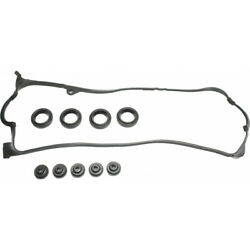 For Honda Civic Valve Cover Gasket 2001-2005 Rubber Material Single Overhead Cam