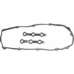 For Bmw Z3 Valve Cover Gasket 1999-2002 W/ Spark Plug Tube Seals Rubber Material