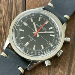 Citizen Vintage Chronograph Recordmaster Manual Winding Mens Watch Auth Works