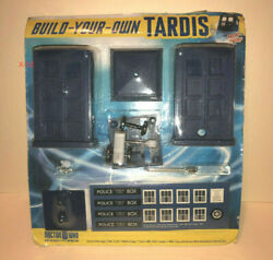 Doctor Who Build Your Own Tardis Toy Model Kit Bbc 2009 Blue Police Box Figure