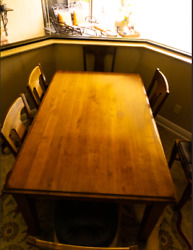 Crate And Barrel Dinner Table + Chairs Dining Set Local Pick Up
