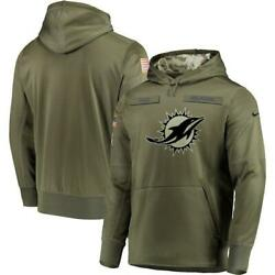 Miami Dolphins Salute To Service Hoodie Nike 2018 - Mens L, Xl, 2xl - Not Fake