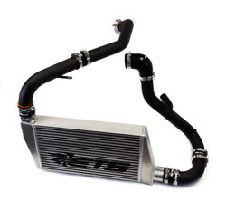 Ets 3.5 Front Mount Intercooler Kit W/ Piping For Mitsubishi Evo X