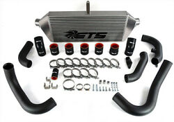 Ets 3.5 Front Mount Intercooler Kit W/ Piping For Subaru 2004-2005 Wrx And Sti
