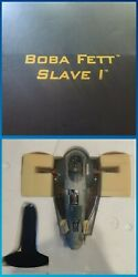 Star Wars Code 3 Collectibles Boba Fett Slave 1 Diecast Replica Limited Edition