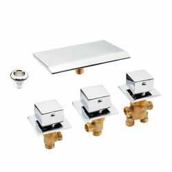 Cold And Hot Water Tap Brass Switch Control Valve For Bathtub Faucet Set Shower