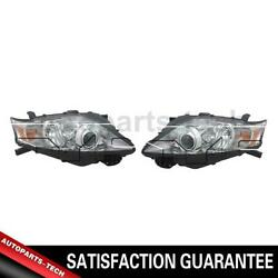 2x Tyc Left Right Headlight Assembly For Lexus 20102013
