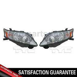 2x Tyc Left Right Headlight Assembly For Lexus Rx350 20102011