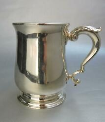 George Ii England Sterling Tankard R. Gurney And Cook London 1737 Clan Rollo