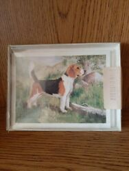 New Beagle Dog 6 Note Cards with Envelopes designed by Ruth Maystead