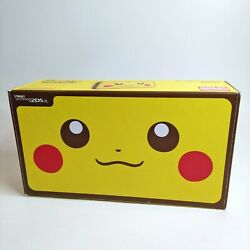 New Nintendo 2ds Xl Pikachu Edition Console Mint Free Same Day Shipping