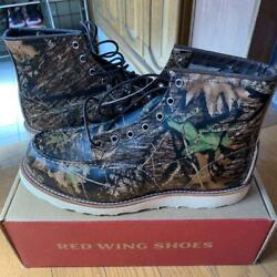 New Red Wing 8884 Camouflage Menand039s Shoes With Box Size 28.5cm Very Rare