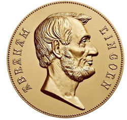 Us Mint Abraham Lincoln Bronze Medal 3 Inch 116 Sealed In Box Sold Out At Mint