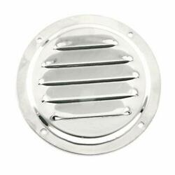 Pro Bamboo Kitchen 4 Inch Stainless Steel Round Louvered Air Vent Cover For M...