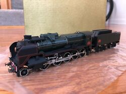 Metropolitan Sa Brass Ho Scale Sncf 150p Steam Locomotive And Tender. Boxed Mint