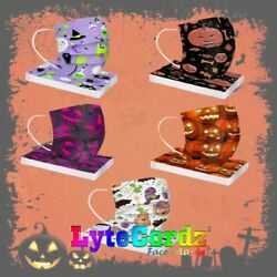 Face Mask Halloween Disposable Surgical 3 Ply Child Size $7.99