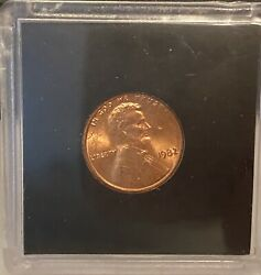1982 Lincoln Cent Large Date No Mint Mark
