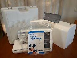 Brother Innov-is 4000-d Disney Embroidery Sewing Machine Acc Pkg Hoops Low Count