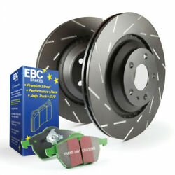 Ebc For Land Rover Discovery 2017 2018 Brake Kit S2 Greenstuff 6000 Sold As Kit