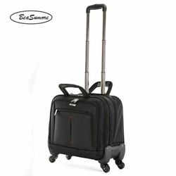 Beasumore Multifunction Business Rolling Luggage 18 Inch Suitcase Trunk