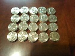 Complete Jfk Kennedy Half Dollar P And D Set 1971-2019 Wow Some Unc.