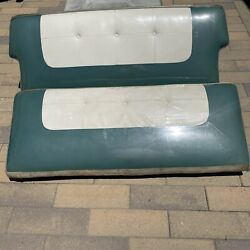 Vintage 1950's Gm,buick,pontiac, Olds Bench Seats. Barn Find Great Vintage Cond