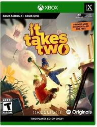 It Takes Two Xbox One / Series X Brand New Sealed