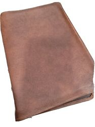 The Liberty Annotated Study Bible Rebound Marbled Brown Cowhide With Liner Nice