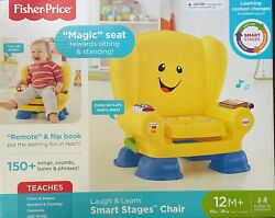 Fisher-price Laugh And Learn Smart Stages Chair, Yellow - New In Box Unopened