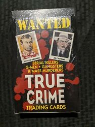 True Crime Series 1 Trading Cards Sealed Box 1992 Eclipse Ent.