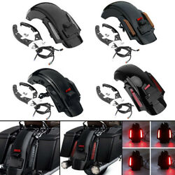 Led Style Rear Fender System For Harley Touring Road King Electra Glide 2009-13