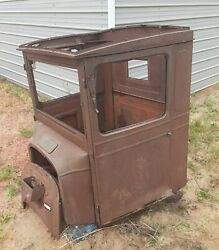 Ford T Tt Cab Circa 1926 With Doors And Firewall